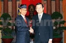 Le roi de Malaisie termine sa visite d'Etat au Vietnam