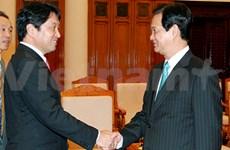 Le PM reçoit le ministre japonais de la Défense