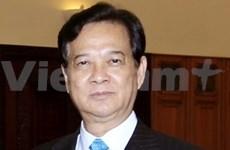 Le Premier ministre Nguyen Tân Dung part pour la France