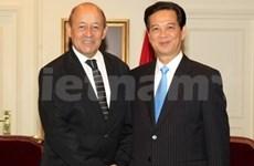 Activités du Premier ministre Nguyen Tan Dung à Paris