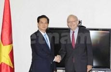 Le PM Nguyen Tan Dung rencontre des dirigeants du PNUD, de l'UNFPA et de l'UNICEF