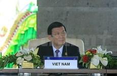 Le Vietnam est actif au sein de l'APEC