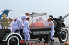 La presse internationale couvre les funérailles du général Giap