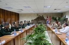 Vietnam et Cuba intensifient leur coopération dans la défense