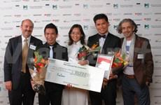 Les étudiants vietnamiens primés au concours international business