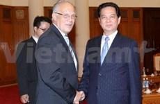 Le conseiller fédéral de l'Economie suisse au Vietnam