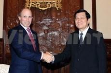 Des dirigeants vietnamiens reçoivent des entrepreneurs américains