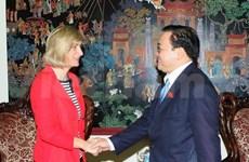 Vietnam et Belgique renforcent leur coopération