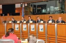 Séance sur l'accord de libre-échange Vietnam-UE