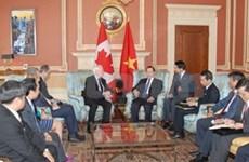 Le vice-Premier ministre Vu Van Ninh au Canada