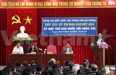 Le PM demande Hai Phong à dynamiser le développement