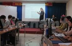 Formation en journalisme électronique à Hanoi