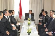 Le PM appelle au renforcement de la coopération économique Vietnam-Japon