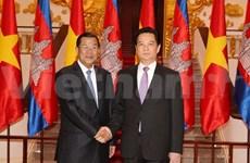 Le PM effectue une visite de travail au Cambodge