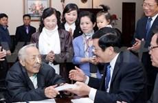 Le président du Vietnam formule ses voeux du Têt aux intellectuels