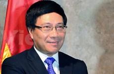 WEF : Pham Binh Minh souligne le rôle de l'ASEAN