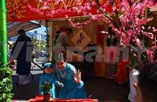 """HCM-Ville: Offrande de """"banh tet"""" du Sud aux rois fondateurs Hung"""