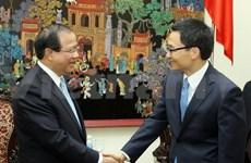 Information: Vietnam et Laos renforcent leur coopération