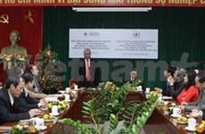 Activités philanthropiques : la coopération vietnamo-américaine se renforce