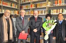 Inauguration en Italie d'une bibliothèque sur le Vietnam