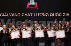 82 entreprises reçoivent le prix national de la qualité 2013