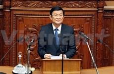Activités du Président du Vietnam au Japon