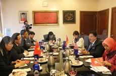 Une délégation du PCV visite la Malaisie