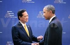 Le PM vietnamien rencontre de hauts dirigeants aux Pays-Bas