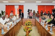 Entrevue entre le PM vietnamien et le président de l'AN cubaine