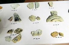 Archéologie: découverte de nombreux fragments de céramique au fort Tân Long Ha