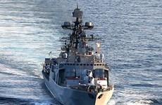 Manoeuvre multilatérale des marines KOMODO en Indonésie