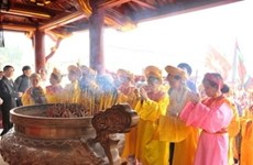 Phu Tho: hommage aux ancêtres légendaires des Vietnamiens