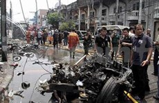 Attentats à la bombe dans le Sud de la Thaïlande, un mort et 14 blessés
