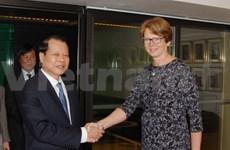 Le vice-PM Vu Van Ninh en visite officielle en Suède