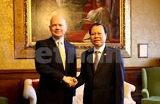 Vietnam et Royaume-Uni promeuvent leur partenariat stratégique