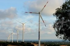 Un projet éolien de 85 millions d'euros à Binh Dinh