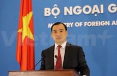 Le VN proteste contre les déclarations mensongères du porte-parole du MAE chinois