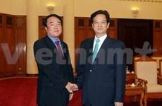 Le PM Nguyen Tan Dung reçoit le président de Yonhap