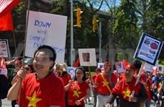 Les Vietnamiens au Canada dénoncent les actes chinois en Mer Orientale