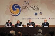 Le Vietnam à la 28e Table ronde d'Asie-Pacifique