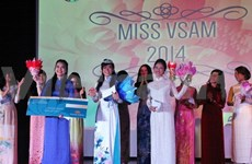 Finale du concours de beauté des étudiants vietnamiens de Malaisie
