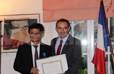 France-Vietnam : le directeur général de la VTV reçoit l'Ordre national du Mérite