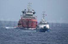 Haiyang Shiyou-981: changements de la formation des navires chinois