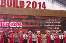 Ouverture du salon international Vietbuild de Ho Chi Minh-Ville 2014