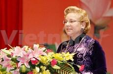 La représentante en chef de l'UNESCO au Vietnam à l'honneur