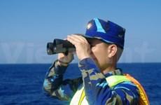 Rencontre de familles de cadres et de soldats en mission en Mer Orientale
