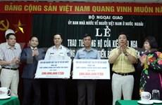 La diaspora vietnamienne à l'étranger tournée vers Hoang Sa et Truong Sa