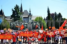 Mer Orientale : meeting de protestation contre la Chine à Mexico