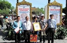 Hue accueille son millionième touriste de 2014