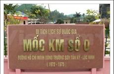 Kilomètre Zéro: point de départ de la piste légendaire Ho Chi Minh